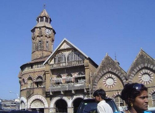 Crawford Market en Bombay