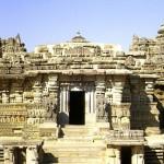 Magnífica arquitectura hoysala en Somnatphpur