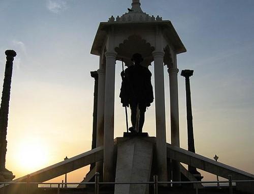 Monumento de Gandhi en Pondicherry