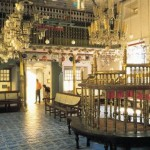 La hermosa sinagoga de Kochi, en Kerala