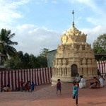 El templo Gavi Gangadhareshwara, en Bangalore