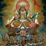 Surya, el dios del sol