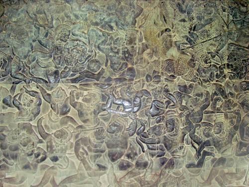 La batalla de Kurukshetra