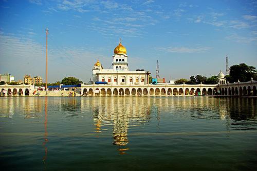 El Templo Sikh en Delhi