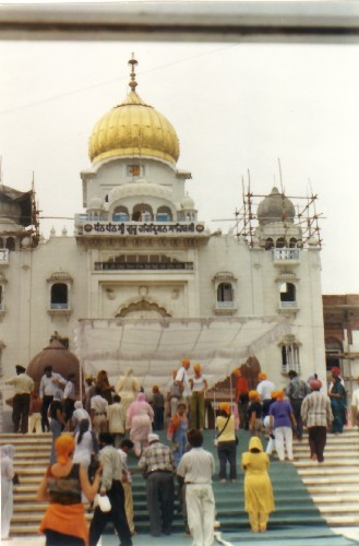 Templo Sikh en Delhi