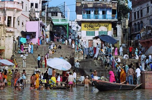 Ghats en Benares