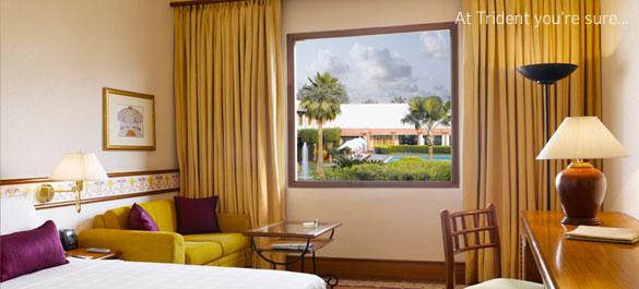 Hotel trident Agra Habitacion