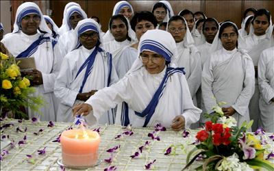 Las Misioneras de la Caridad en Agra