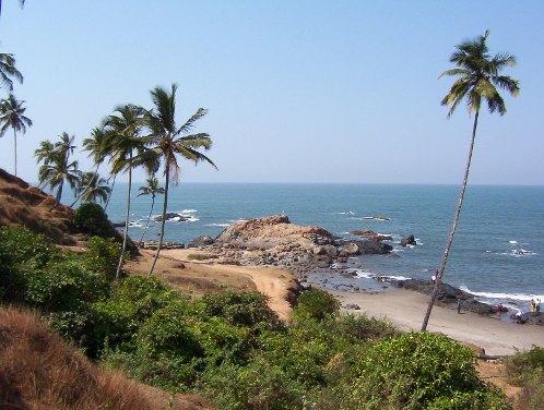 Playa en la India