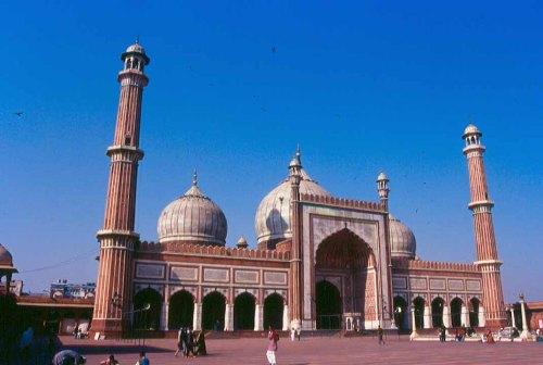 La Mezquita del viernes, en Delhi