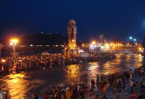Festival de Aarti en Haridwar