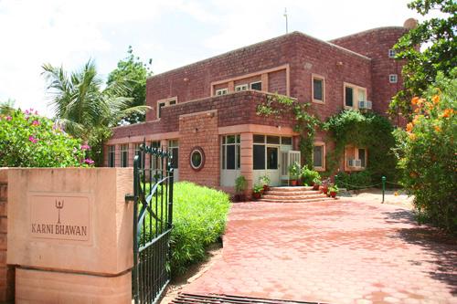 Hotel de lujo en el Palacio Karni Bhawan