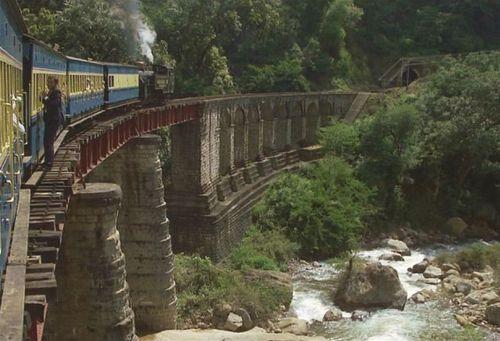 Viaje en tren por la India