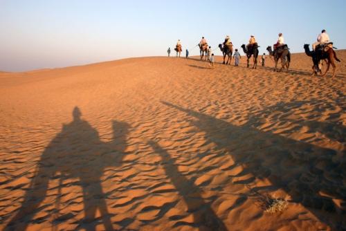 Desierto en Rajastán