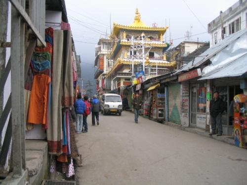Calles de Dharamsala