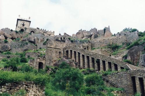 El fuerte de Golconda
