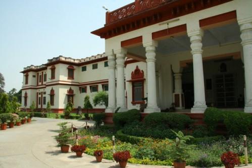 El Museo Bharat Kala Bhawan, en Benarés