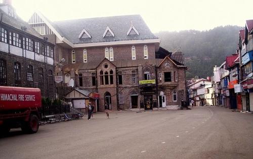Centro histórico de Shimla