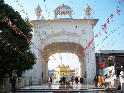 Entrada principal del Templo