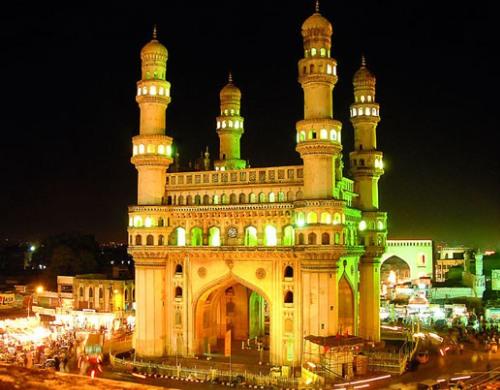 Recorriendo los monumentos de Hyderabad