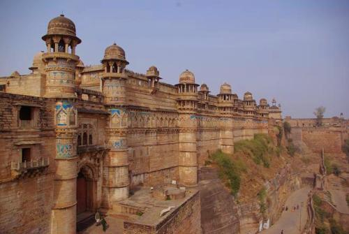 Gwalior, antigua ciudad en Madhya Pradesh