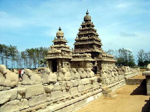 Mamallapuram y las piedras vivientes