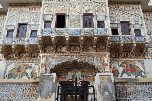Mandawa, pintoresco pueblo de Rajasthan