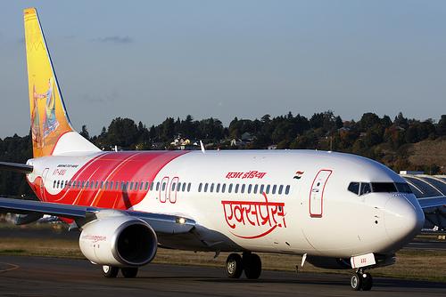 Viajar en avión por toda la India