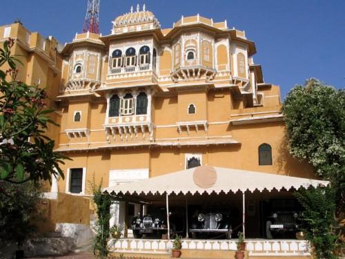 Deogarh Mahal, dormir en un palacio en Udaipur