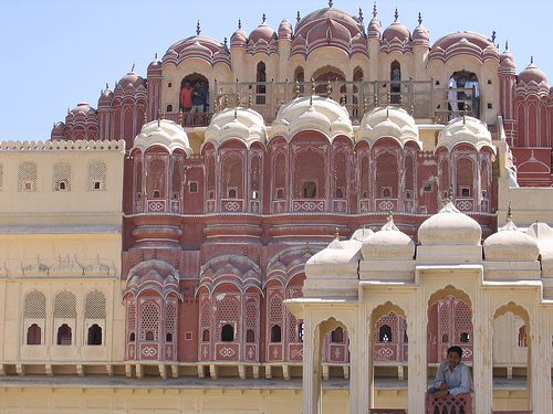 Visitar algunos majestuosos palacios de la India