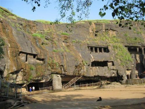 Las cuevas de Karla, en Maharashtra