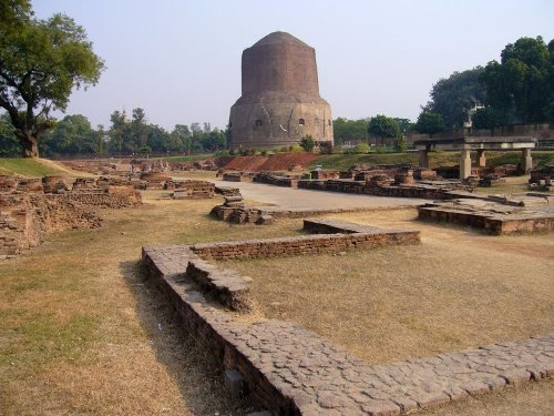 Sarnath, ciudad sagrada de la India