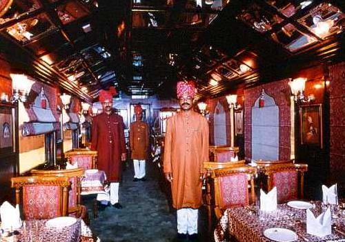 Tren de lujo en la India