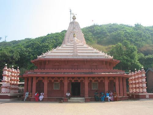 El templo de Ganapatipule.