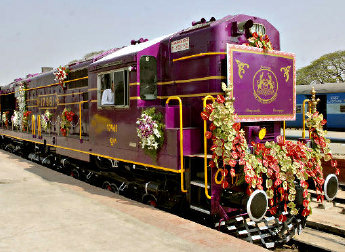 El Golden Chariot, lujoso tren de Karnataka