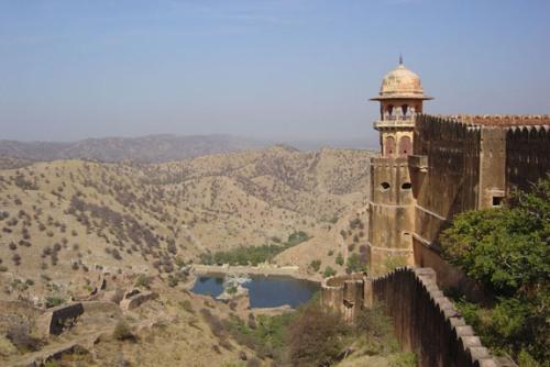 El fuerte de Jaigarh, en Jaipur