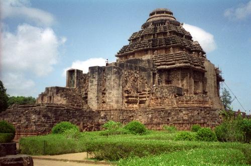 templo del sol de Konarak