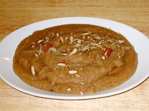receta india, Suji Halava