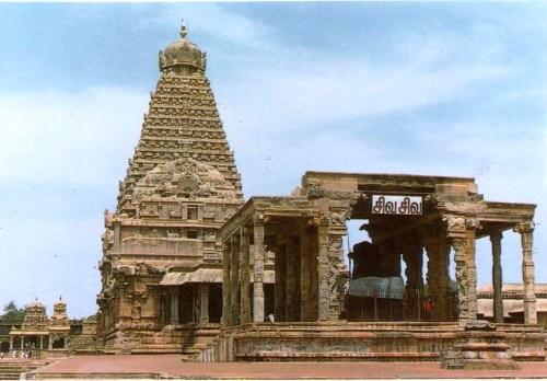 Thanjavur India  city pictures gallery : El Templo Sri Brihadeshwara, o Gran Templo