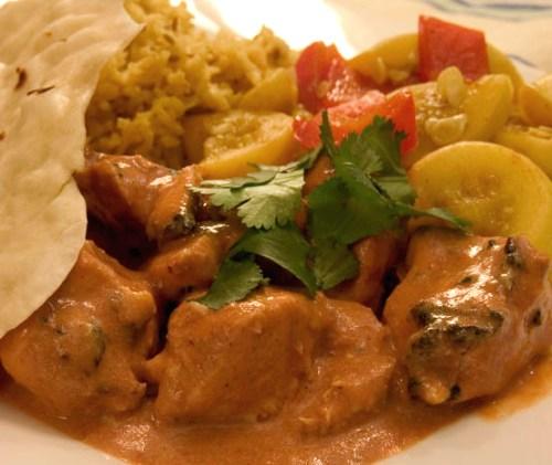 Pollo tikka masala, deliciosa receta hindu