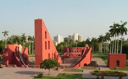 Jantar Mantar, el observatorio astronomico de Delhi