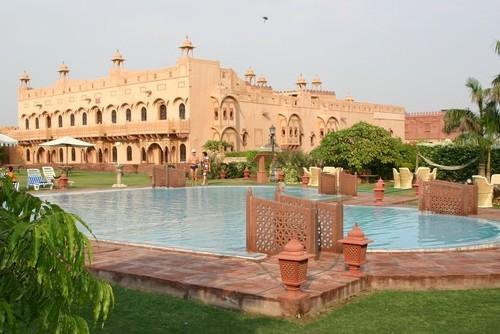 Khimsar, castillo y hotel