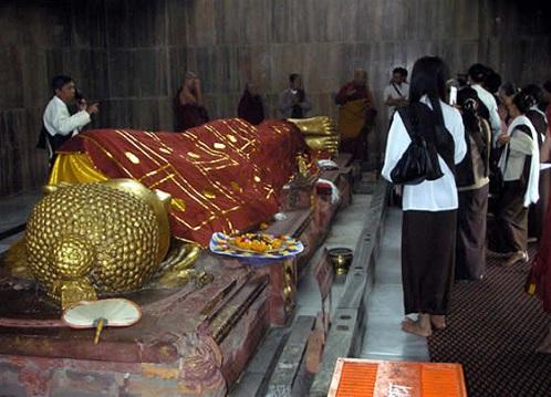 Kushinagar, un destino de peregrinaje budista