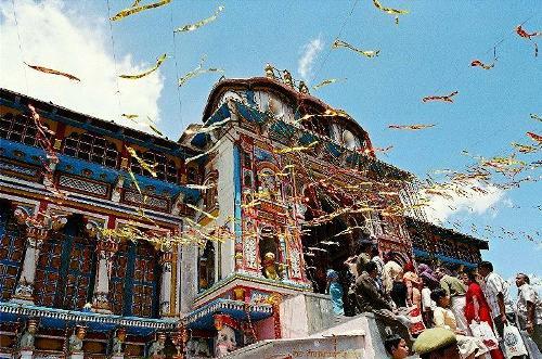 Festival en Badrinath, ciudad sagrada