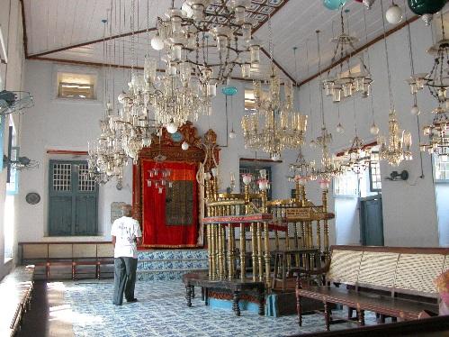 El palacio Mattancherry, Cochin, Kerala