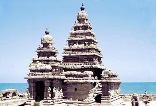 Templo de la Costa, Mahabalipuram