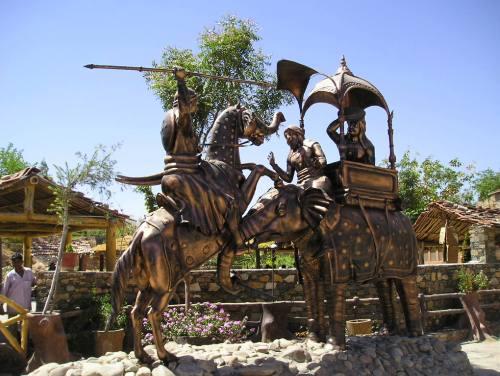 Haldighati, un sitio histórico