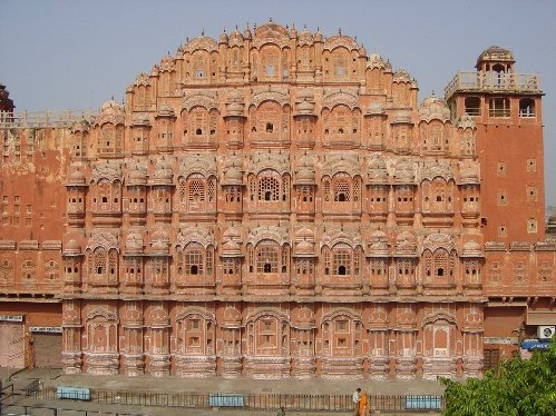 Hawa Mahal, Palacio de los Vientos, Jaipur</code>