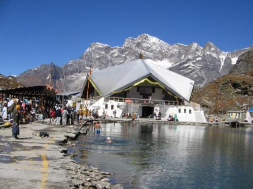 Hemkund Saheb, cordillera del Himalaya