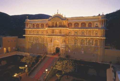 El palacio de Samode, en Rajasthan